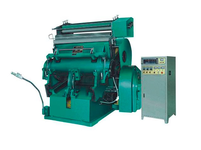 Troqueladora manual hot stamping