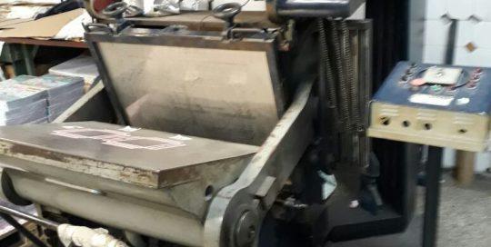 troqueladora manual Magnus con stamping