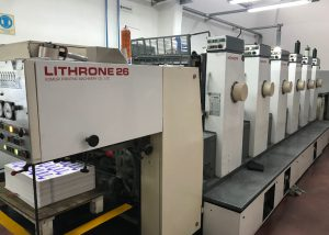 Komori Lithrone 626 6 colores 1