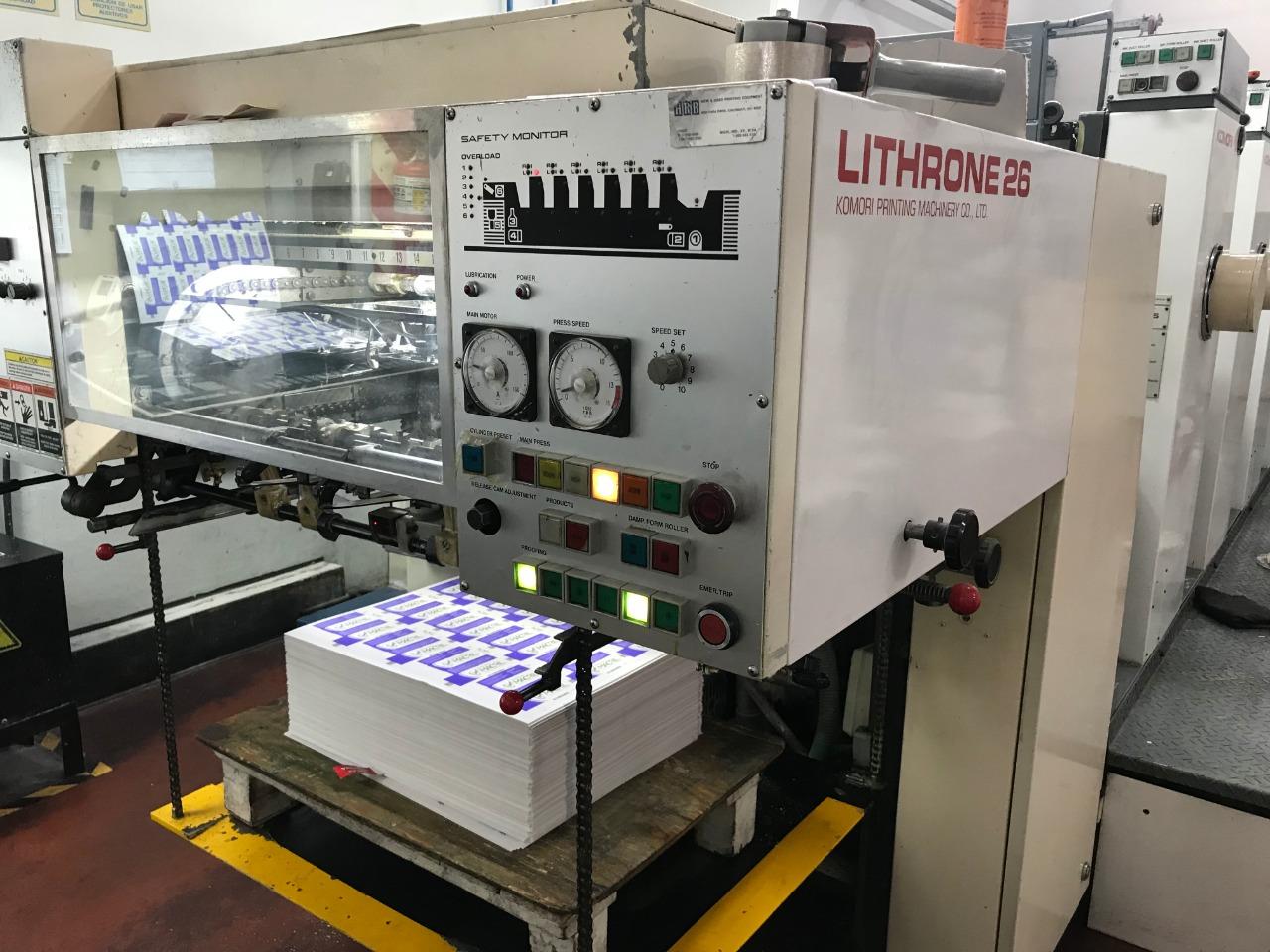Komori Lithrone 626 6 colores 3