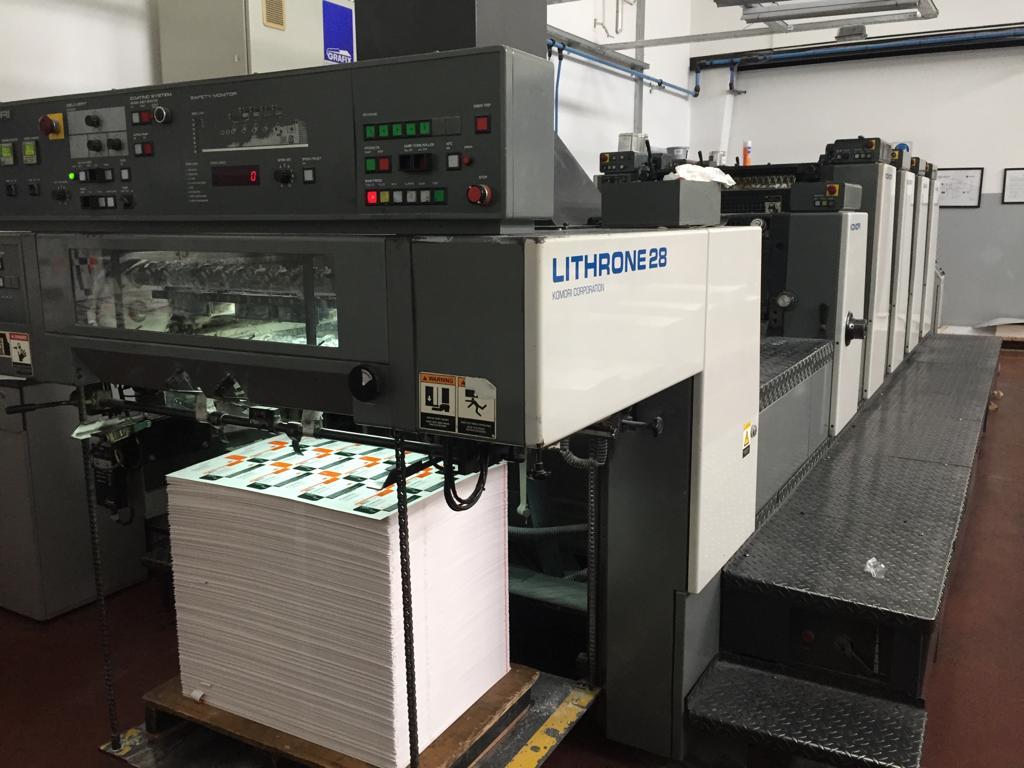 Komori Lithrone 428L 3