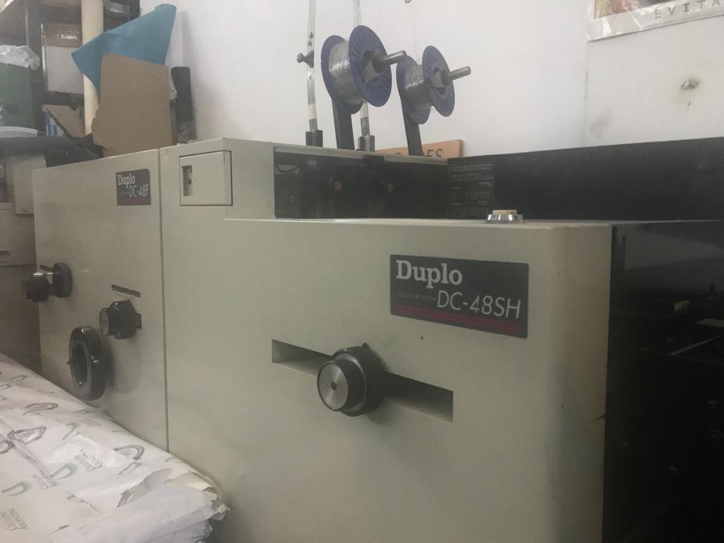Intercaladora Duplo DC8000S 2