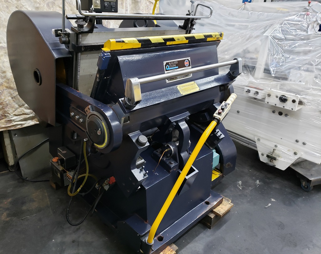Troqueladora manual ML750 2